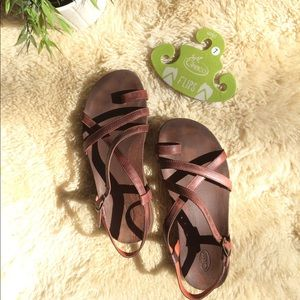 02c301dba34 Chaco Shoes - Leather Chaco Dorra Sandals